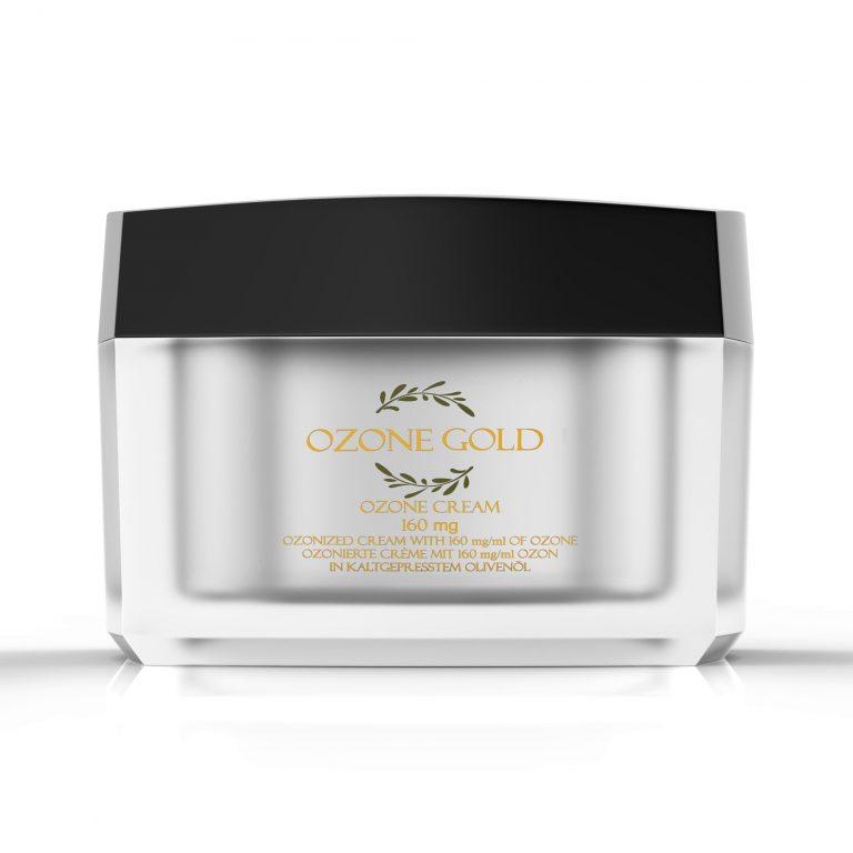 8680885440843 OZONE GOLD - Ozone cream 160mg Bedsore Skin Infections athletes foot Acne cream ozonized olive oil ozone gold ozone