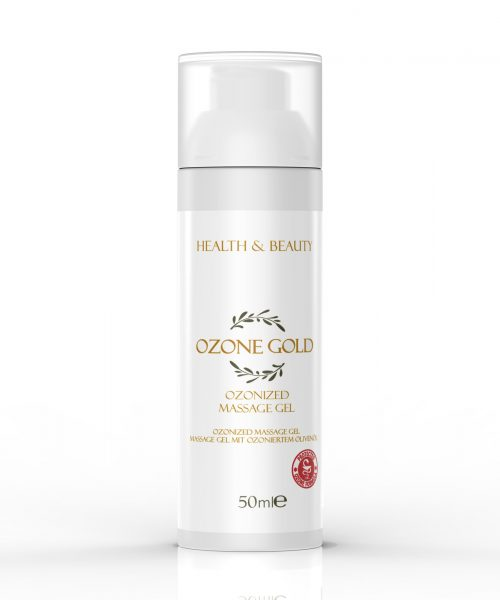 8680885440812 OZONE GOLD - Ozonized massage gel deep tissue massage massage gel essential oils muscle tension ozonized olive oil ozone gold ozone ozon olivenöl, was ist ozon öl