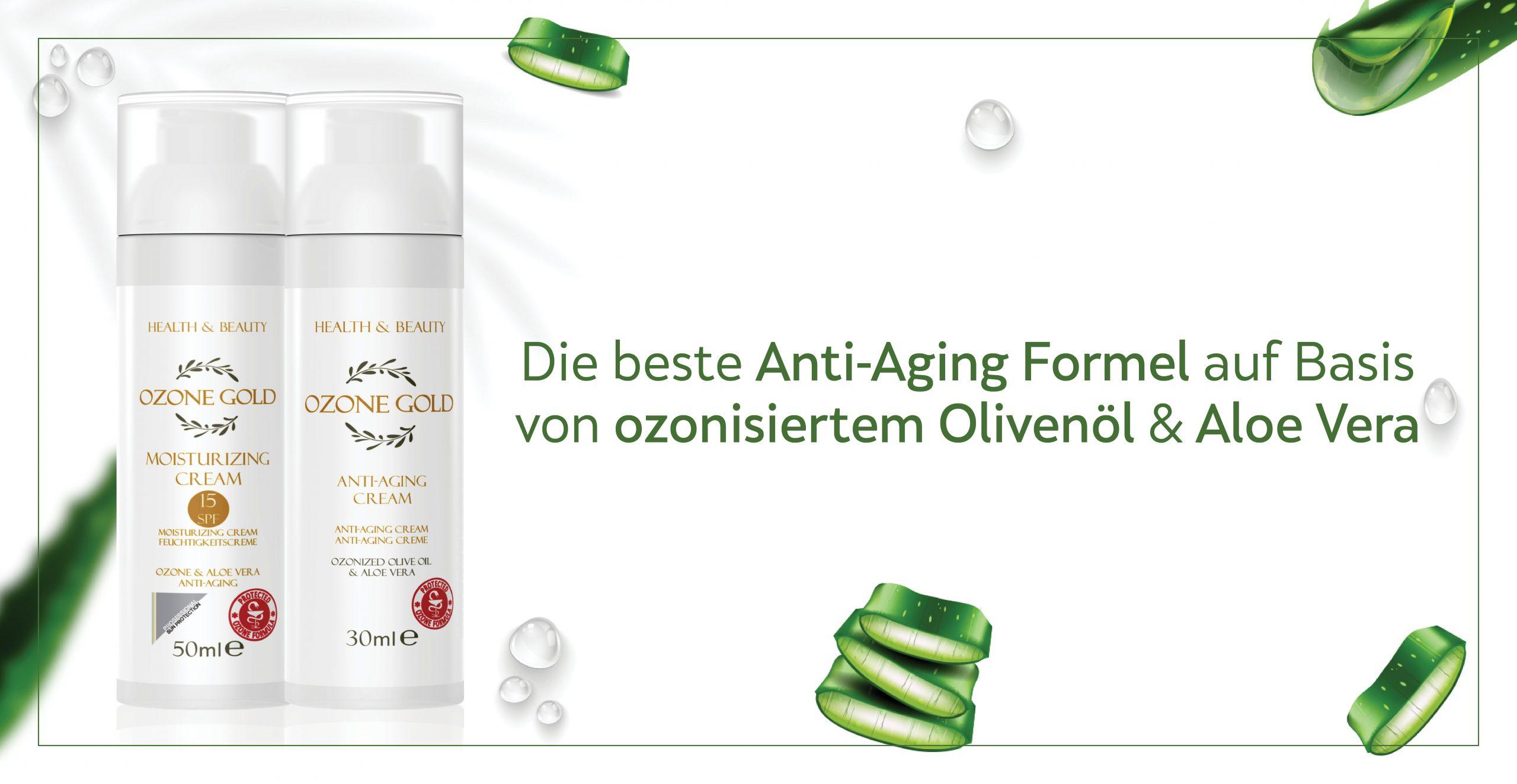 Baner Ozone Gold 09.08.2021 Anti Aging Moisturizing Cream DE scaled - OZONE GOLD